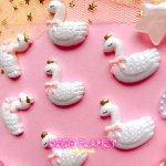 画像2:  ピンクリボン 白鳥 (2)