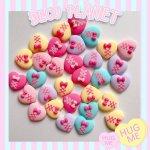 画像2: Lace up heart♥レースアップハート (DECOPLANETオリジナル) (2)