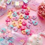 画像1: Lace up heart♥レースアップハート (DECOPLANETオリジナル) (1)