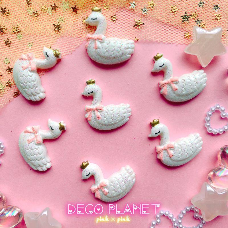 画像1:  ピンクリボン 白鳥 (1)
