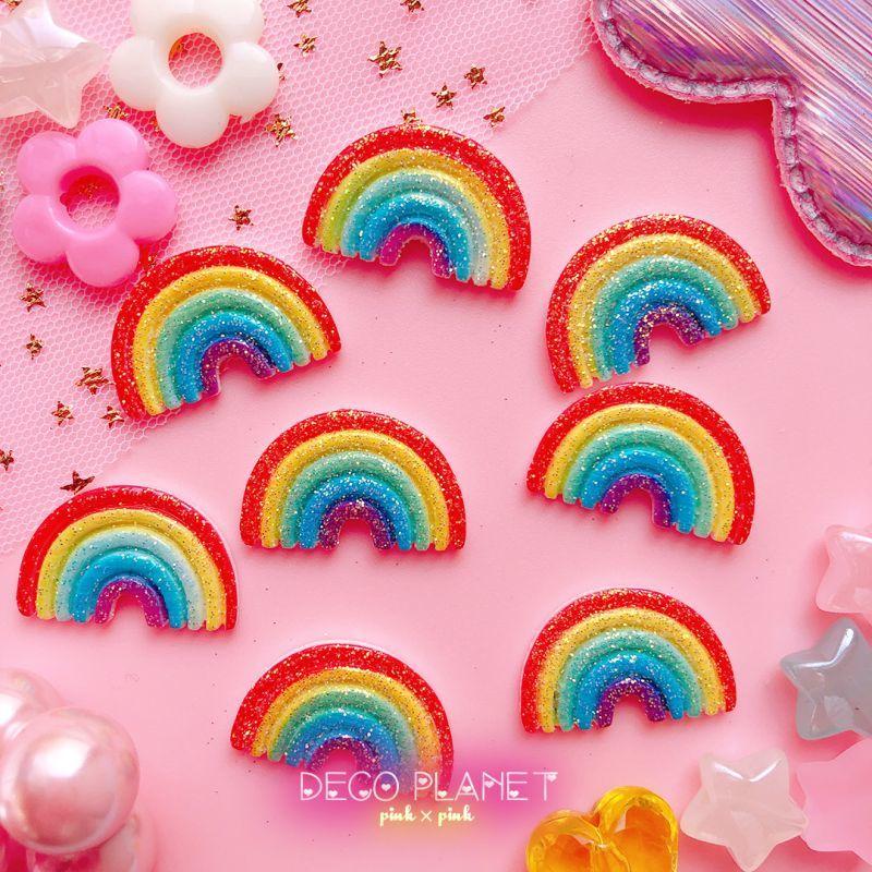 画像1: 虹(ラメ付き) (1)