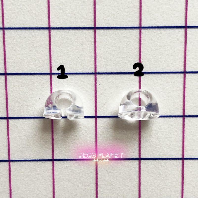 画像1: 接続パーツ 半円型(10個セット) (1)